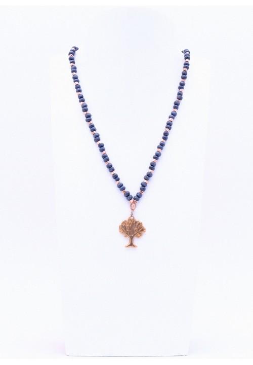 Halskette mit Lebensbaum Anhänger in Rosegold